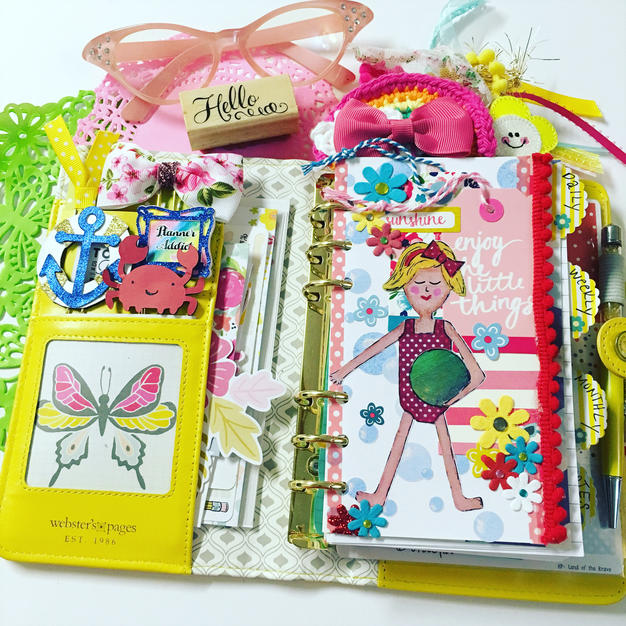 Create with Rebecca At the Beach Kit Planner Dashboard