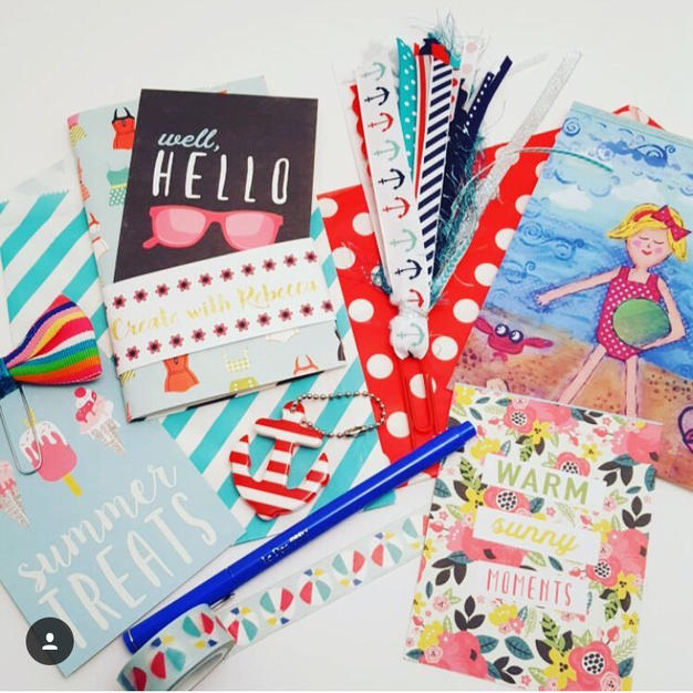 At the Beach Stationery/ Planner Kit