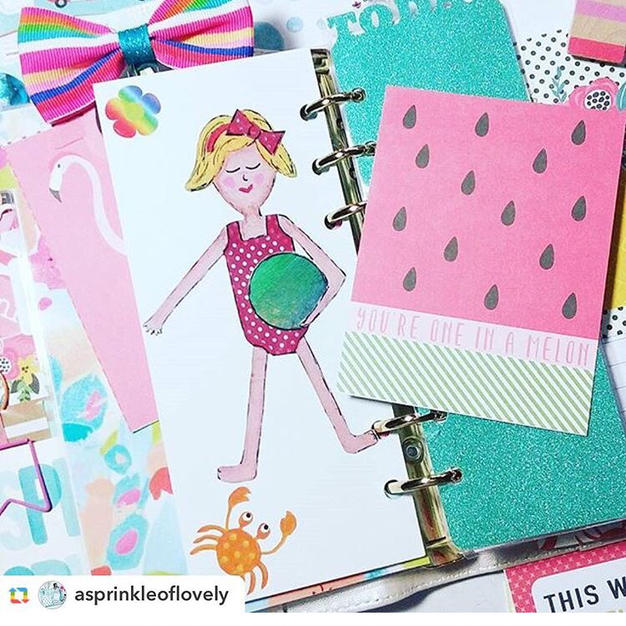 Create with Rebecca At the Beach Kit