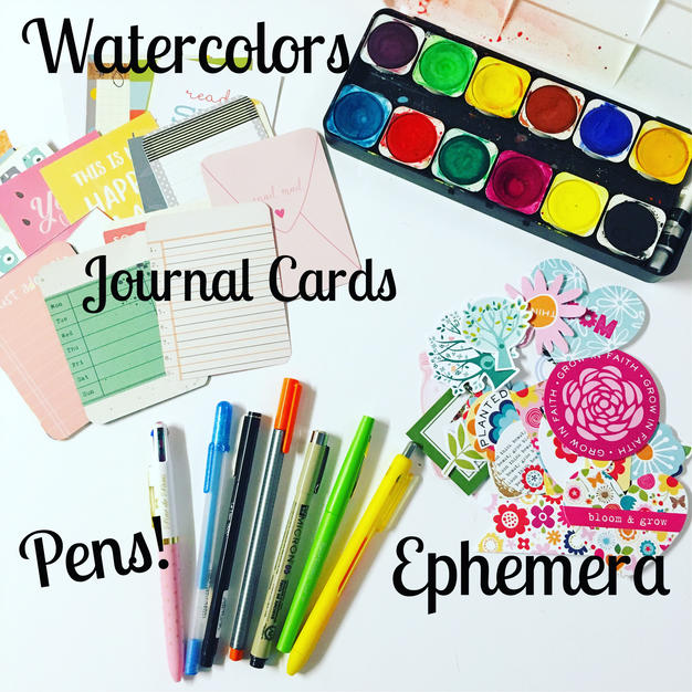 Favorite Journaling supplies